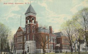 GOUVERNEUR , New York, 1900-10s; High School