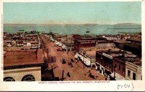 Washington Everett Hewitt Avenue Looking Towards The Bay