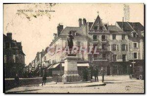 Old Postcard Montargis Place Mirabeau