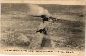CPA Entre PORNIC et Ste-MARIE - La Jetée des Grandes Vallées un jour (587975)