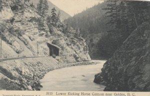GOLDEN , B.C. , Canada , 00-10s ; Lower Kicking Horse Canyon