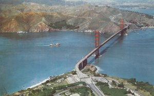10732 Golden Gate Bridge, San Francisco California 1961