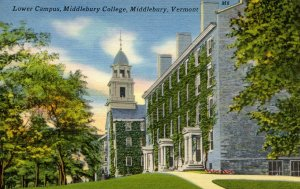 VT - Middlebury. Middlebury College, Lower Campus