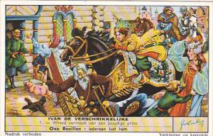 Liebig S1646 Ivan The Terrible No 1 Wreed vermaak van een jeugdige prins