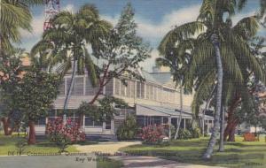 Florida Key West Commandants Quarters Where The Presideant Vacation's 1957