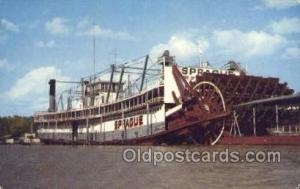 Sprague Vicksburg Mississippi, USA Ferry Boats, Ship, Ships, Postcard Post Ca...