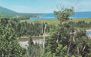 Indian brook, Cabot trail, CAPE BRENTON, Nova Scotia, Canada, 40-60´s