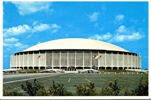 Texas Houston The Astrodome Sports Stadium