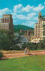 Arkansas Hot Springs View Of Central Avenue