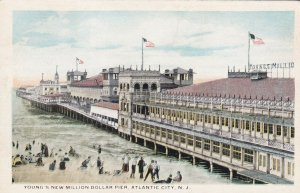 ATLANTIC CITY, New Jersey, 1900-1910s; Young's New Million Dollar Pier