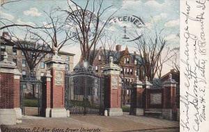 New Gates, Brown University, Providence,  Rhode Island,  PU-1907