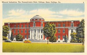 Group Of 6 State College Pennsylvania Campus Antique Postcards K83389