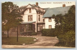Southampton Long Island New York~Hampton Manor~c1910 Hand-Colored Albertype