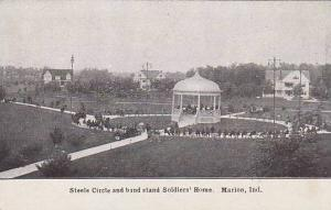 Steele Circle and Band Stand Soldiers's Home, Marion, Indiana, 00-10s