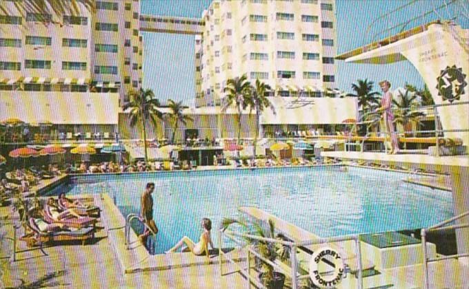 Florida Miami Beach The Sherry Frontenac Hotel 1956