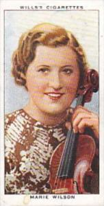 Wills Cigarette Card Radio Celebrities No 11 Marie Wilson