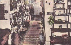 West Virginia Lewisburg Memory Hall General Lewis Hotel Albertype