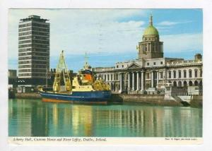 Liberty Hall & Customs House, Dublin, Ireland, PU-1971