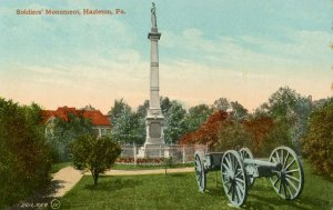 PA - Hazleton. Soldiers' Monument