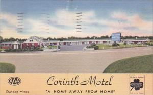 Mississippi Corinth Motel 1956