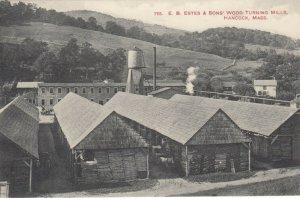 HANCOCK , Massachusetts, 00-10s ; Wood Turning Mills