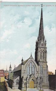 Trinity Church, Germain Street Entrance, ST. JOHN, New Brunswick, Canada, PU-...