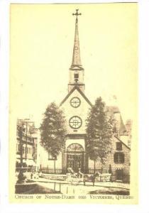 Church of Notre-Dame des Victoires, Quebec, Canada, 30-40s