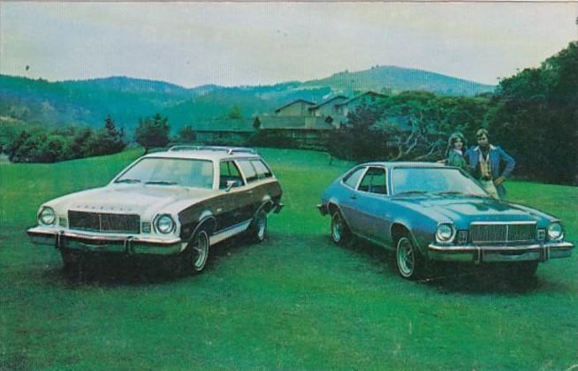 Advertising  1975 Mercury Bobcat Villager Wagon and 3 Door Runabout