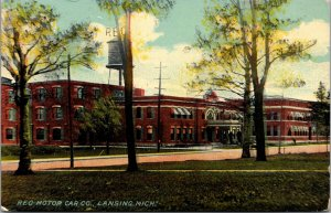 Postcard Reo Motor Car Company in Lansing, Michigan~132527