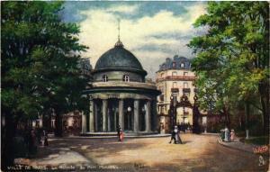 CPA Paris 8e, Ville de Paris - La Rotende du Parc Monceau (363461)