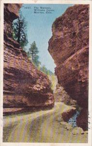 Colorado Manitou The Narrows Williams Canon 1930