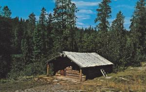 Trappers Cabin , Hudson Hope , B.C. , Canada , 50-60s