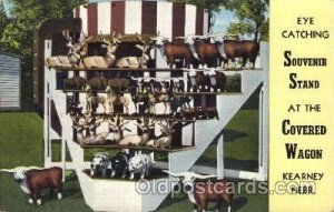 Covered Wagon, Souvenir St& Advertising 1949