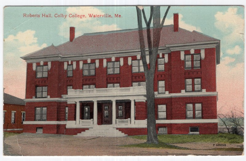 Waterville, Me, Roberts Hall, Colby College