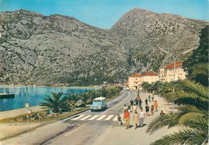 Montenegro Postcard Touristic Drustvo Risan Boka Kotorska mountain scenery