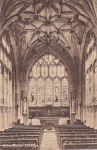 England Winchester College Chapel Chantry
