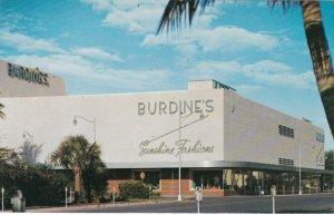 Florida Miami Beach Burdines Department Store meridian At Seventeenth sk6801