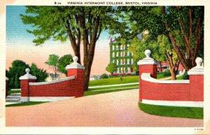 Virginia Bristol Virginia Intermont College Entrance