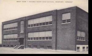 Vermont Newport Sacred Heart High school West View Artvue