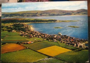 Scotland Aerial view Millport The Great Cumbrae - posted 1972