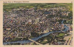 Delaware Wilmington Aerial View Of Wilmington