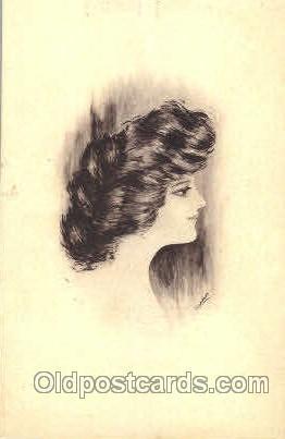 Artist Signed Cobb Shinn or Tom Yad (United States) Postcard Post Card  Artis...