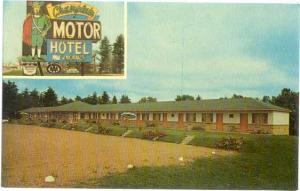 Champlain Motor Hotel Ltd.. Prembroke, Ontario, Canada, Chrome