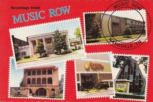 Tennessee Nashville Greetings From Music Row