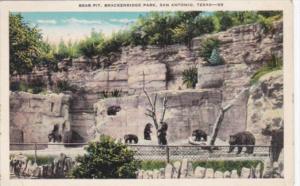 Texas San Antonio Bear Pit Brackenridge Park
