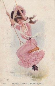 Woman on a swing , 1910