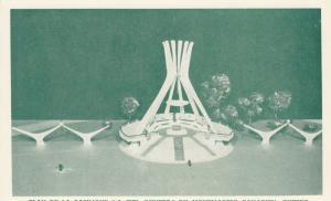 QUEBEC CITY, 1960s; Plan De La Basilique A Ciel Ouvert Du Montmatre Canadien