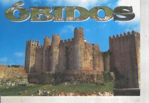 Postal 014155: Castillo de Obidos, Portugal