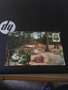 Vtg Postcard: Helen Hunt Jackson's Grave, Cheyene Mountain CO