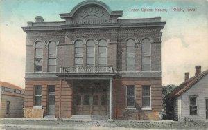 LP98 Traer Iowa Postcard Opera House